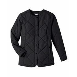 Ultra Club | UltraClub Ladies' Dawson Quilted Hacking Jacket