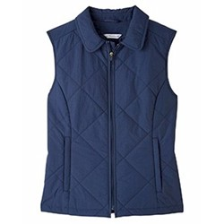 Ultra Club | UltraClub Ladies Dawson Quilted Hacking Vest