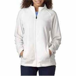 Ultra Club | UltraClub LADIES' Cool & Dry Full-Zip Micro-Fleece