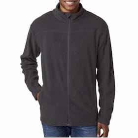 UltraClub Cool & Dry Full-Zip Micro-Fleece