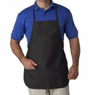 Ultra Club | UltraClub Large Two-Pocket Bib Apron