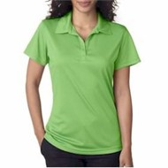 Ultra Club | UltraClub LADIES' Cool & Dry Jacquard Stripe Polo