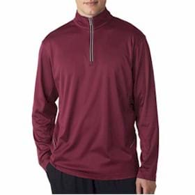 UltraClub Cool & Dry Sport 1/4-Zip Pullover