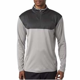 Ultra Club | UltraClub Sport Color Block 1/4-Zip Pullover
