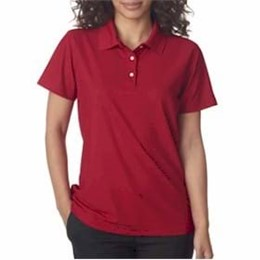 Ultra Club | UltraClub LADIES' Cool & Dry Pebble-Knit Polo