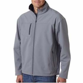 UltraClub Soft Shell Jacket w/ Cadet Collar
