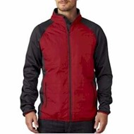 Ultra Club | UltraClub Quilted Front Lightweight Jacket
