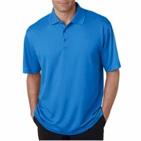 UltraClub Elite Mini-Check Jacquard Polo