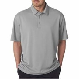 Ultra Club | UltraClub Jacquard Polo w/ TempControl Technology