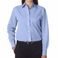 Ultra Club | UltraClub LADIES' Wrinkle-Free End-On-End Shirt