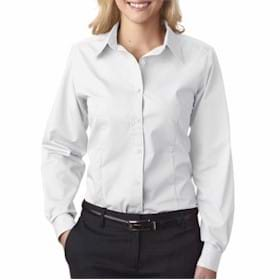 UltraClub LADIES' Easy-Care Broadcloth