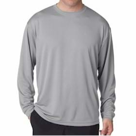 UltraClub L/S Cool-N-DryTM Sport Long-Sleeve Tee