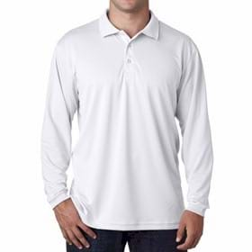 UltraClub L/S Cool-N-Dry Sport Polo
