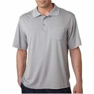 Ultra Club | UltraClub Cool & Dry Sport Polo w/ Pocket