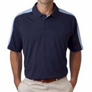 Ultra Club | Cool-N-Dry Sport Shoulder Block Polo