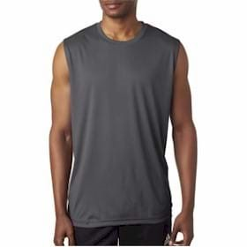 UltraClub Sport Interlock Sleeveless Tee