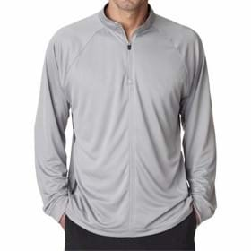 UltraClub L/S Cool-N-Dry Sport 1/4 Zip