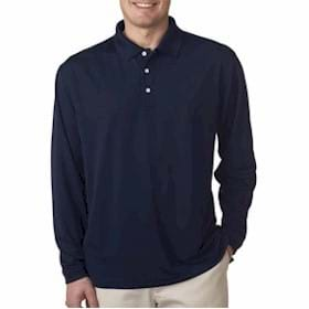 UltraClub L/S Stain-Release Performance Polo