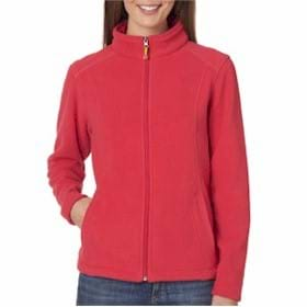 UltraClub LADIES' Micro-Fleece Full Zip Jacket