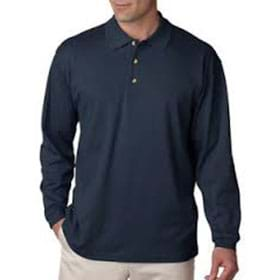 UC Egyptian Interlock L/S Polo
