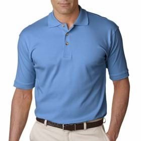 UltraClub Men's Egyptian Interlock Polo