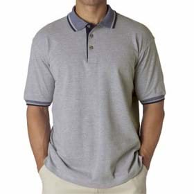 UltraClub Adult Color-Body Classic Pique Polo