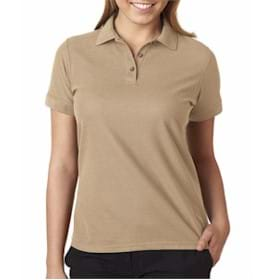 Ultra Club LADIES' Basic Blended Pique Polo