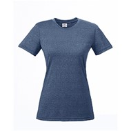 Ultra Club | UltraClub Ladies' Cool & Dry Heathered  T-Shirt
