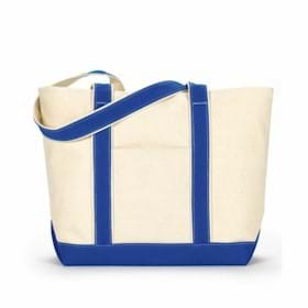 UltraClub LARGE Canvas Boat Tote