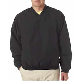UC L/S Microfiber Cross-Over V-Neck Windshirt