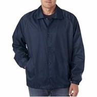 Ultra Club | UltraClub Adult Nylon Coaches Jacket