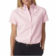 Ultra Club | UltraClub Ladies' Classic Wrinkle-Free S/S Oxford