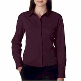 UltraClub Ladies' Whisper Twill Shirt