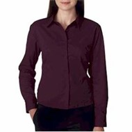 Ultra Club | UltraClub Ladies' Whisper Twill Shirt
