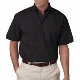 UltraClub Short-Sleeve Whisper Twill Shirt
