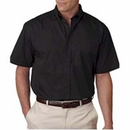 Ultra Club | UltraClub Short-Sleeve Whisper Twill Shirt