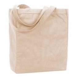 Ultra Club | UltraClub Recycled Cotton Canvas Tote w/ Gusset