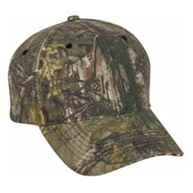 Outdoor Cap Camo Cap with Flag Sandwich