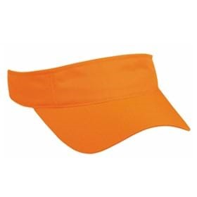 Outdoor Cap Blaze Orange Visor