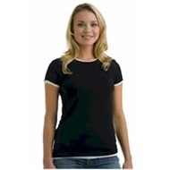 VERVE | VERVE LADIES' Mock Layer Raw Edge Tee