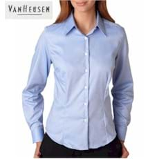 Van Heusen LADIES' 100% Cotton Dress Shirt