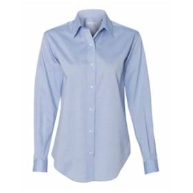 Van Heusen LADIES' L/S Resin Finish Oxford Shirt