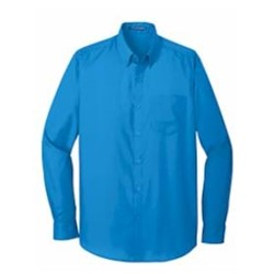 Port Authority | Port Authority® Long Sleeve Carefree Poplin Shirt