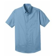 Port Authority | ® Short Sleeve Carefree Poplin Shirt