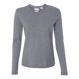 Weatherproof LADIES' Cashmere V-Neck Sweater