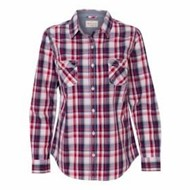 Weatherproof | Weatherproof L/S LADIES' Vintage Plaid Shirt
