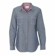 Weatherproof | Weatherproof L/S LADIES' Vintage Chambray Shirt