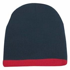 KC | Beanie with Stripe