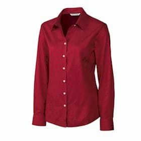 Cutter & Buck LADIES' L/S Fine Twill Shirt