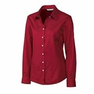 Cutter & Buck | Cutter & Buck LADIES' L/S Fine Twill Shirt